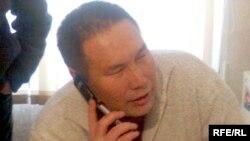 Директор компании «Таразкуаныш-курылыс» Арман Балданбаев. Тараз, 6 января 2009 года.