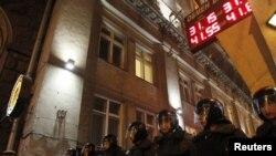 Оппозиционный марш после парламентских выборов. Москва, 7 декабря 2011 года.