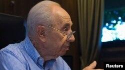 Израильдің бұрынғы президенті Шимон Перес.