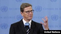 گيدو وستروله، وزير امور خارجه آلمان