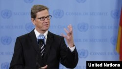 Germain Foreign Minister Guido Westerwelle