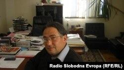 """Филип Филиповски, директор на """"Водостопанство"""" - Куманово."""