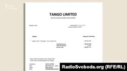 Рахунок за переліт, який Віталій Кличко надіслав журналістам «Схем»