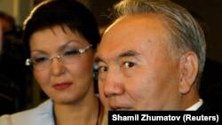 Öňki prezident N.Nazarbaýew we onuň gyzy Dariga