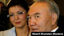 Нурсултан Назарбаев и его дочь Дарига Назарбаева