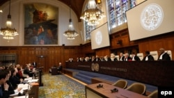 На заседании Международного суда ООН по иску Украины к России 6 марта 2017 года.