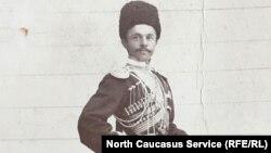 Председатель правительства Республики Союза горцев Кавказа Чермоев