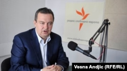 Serbia -- Ivica Dacic, Belgrade, interview, 13 April 2016