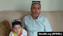 Жамол Аҳмедов набираси билан, Истанбул, 18 июль, 2018 йил