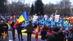 Moldavët kërkojnë ribashkim me Rumaninë