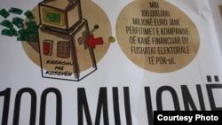 """Gjetjet e publikuara nga Organizata """"Çohu"""" dhe Qendra Kosovare për Gazetari Hulumtuese."""