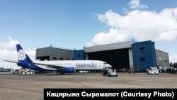 Літак компанії «Белавіа» в новому розфарбуванні, ілюстраційне фото