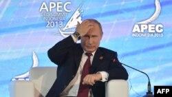 Presidenti i Rusisë, Vladimir Putin. Bali, 7 tetor 2013.