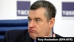 Russian lawmaker Leonid Slutsky
