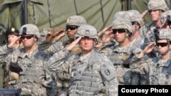 La exercițiul militar de la Bălți