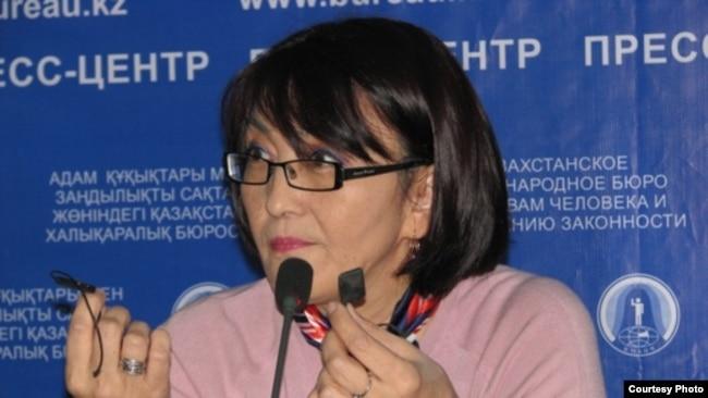Правозащитник Бахытжан Торегожина, руководитель организации «Ар.Рух.Хак».