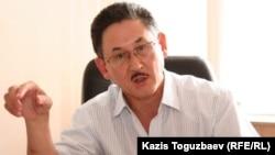 Central Asia Monitor газетінің бас редакторы Бигелді Ғабдуллин.