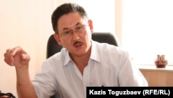 Kazakh journalist Bigeldy Gabdullin (file photo)