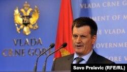 Milorad Vujović, potpredsjednik crnogorske Vlade