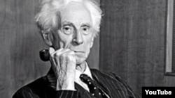 İngilis filosofu Bertrand Russel.