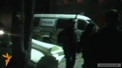 Ոստիկանները Մաշտոցի այգուց ապամոնտաժեցին բնապահպանների վրանը