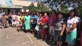 Протест учителей села Кайназар не прекращается