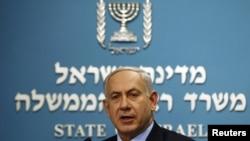 Изралескиот премиер Бенјамин Нетанјаху.