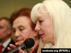 Марына Лобава, маці Эдуарда Лобава