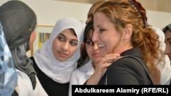 نساء عراقيات يحتفلن بيوم المرأة العالمي في البصرة