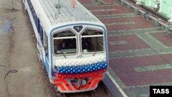 Поезд в Новосибирске, иллюстративное фото