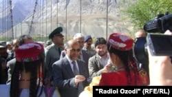 Делегация Афганистана прибыла в Хорог через контрольно-пропускной пункт Тем.