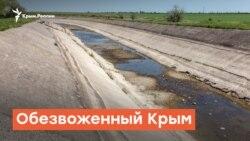 Обезвоженный Крым: лето без Днепровской воды