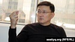Экономист Айдар Әлібаев.
