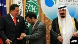 حضور احمدینژاد در نشست سال ۲۰۰۷ سران اوپک در ریاض