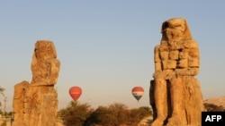آثار باستانی شهر الاقصر مصر