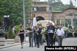 Advokat Miša Ognjanović sahranjen je u sredu u Beogradu