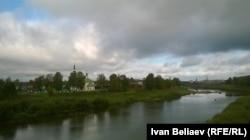 Буй, берег реки Костромы