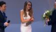 Alexandra Conunova-Dumortier la ceremonia de premiere de la Moscova cu Maxim Vengerov și Salvatore Accardo