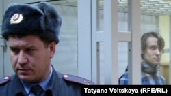 Денис Лёвкин в зале суда