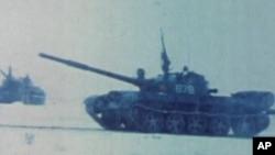 Совет әскерилері Амин сарайына шабуыл жасаған сәт. 27 желтоқсан 1979 жыл.