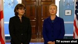 Глава Госдепа дипломатично намекнула грузинской коллеге: поводу законности арестов не должно быть никаких вопросов