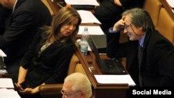 Докладчик ПАСЕ Кристина Зеленкова