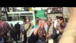 تظاهرة لمؤيدي مرسي وسط القاهرة
