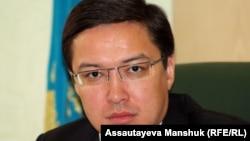 Ұлттық банк төрағасы болып тағайындалған Данияр Ақышев.