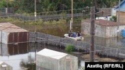 В день выборов - пик наводнения в Комсомольске-на-Амуре