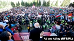 Jamil Hasanlynyň protest aksiýasy. 12.10.2013.