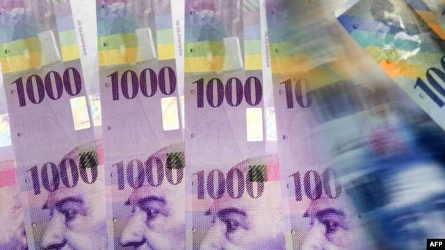 Švicarski franci, ilustrativna fotografija