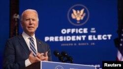 U.S. President-elect Joe-Biden
