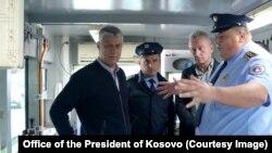 Vizita e presidentit të Kosovës, Hashim Thaçi, në Ujman.