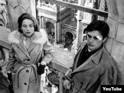 """Luchio Viscontinin çəkdiyi """"Rokko və qardaşları"""" filmindən bir kadr."""